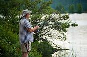 Dad Fishing